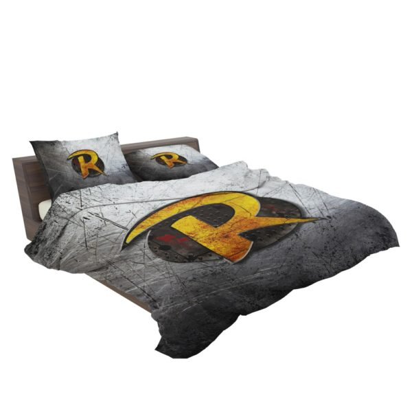 Robin DC Detective Comics Logo Bedding Set 3