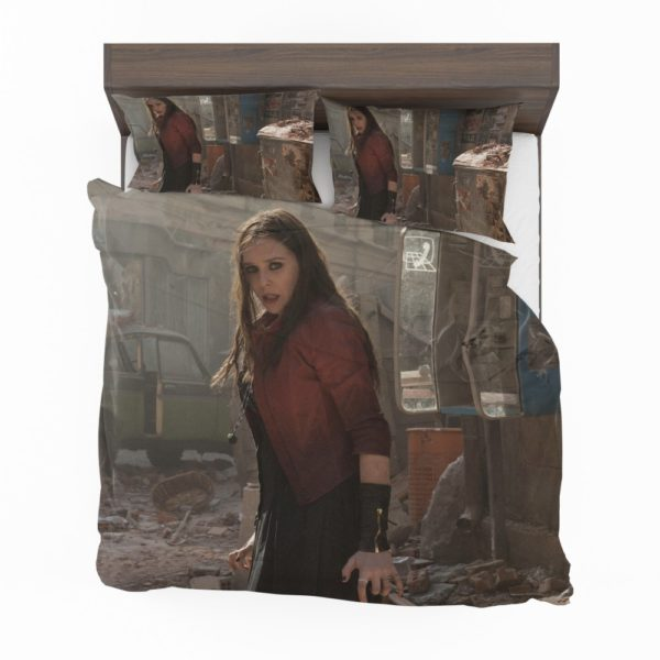 Scarlet Witch Avengers Age of Ultron Elizabeth Olsen Bedding Set 2