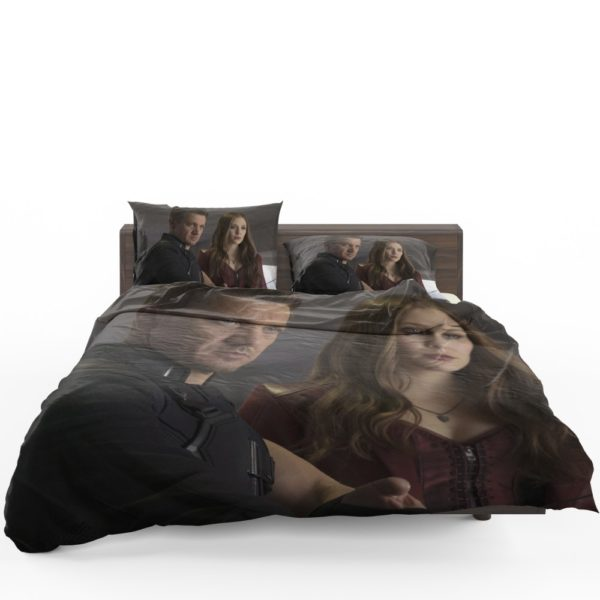 Scarlet Witch & Hawkeye Captain America Civil War Bedding Set 1