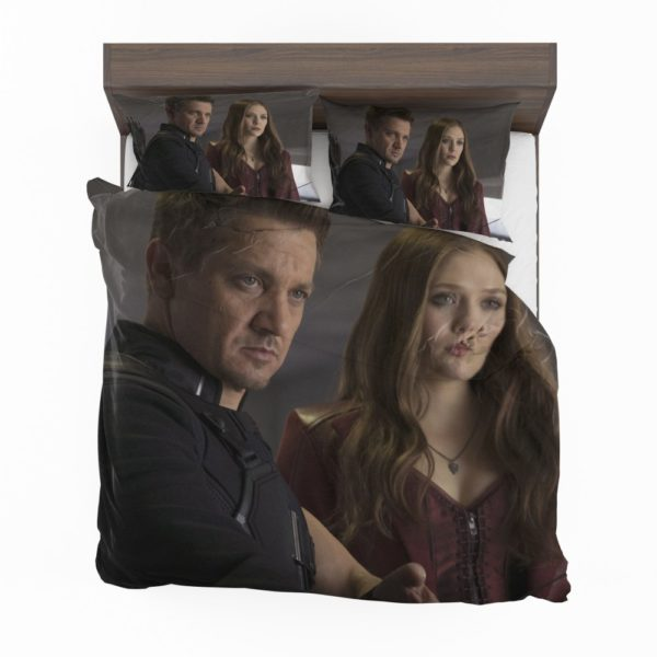 Scarlet Witch & Hawkeye Captain America Civil War Bedding Set 2