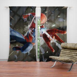 Spider-Man American Comic Book Super Hero Curtain