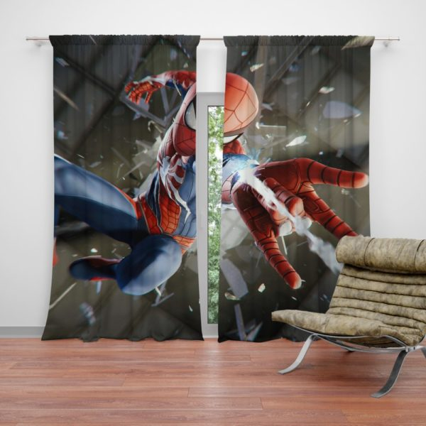 Spider-Man American Comic Book Super Hero Curtain