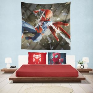 Spider-Man American Comic Book Super Hero Hanging Wall Tapestry