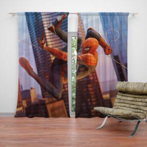 Spider-Man Fictional Super Hero Curtain