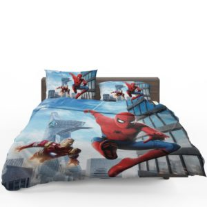 Spider-Man Homecoming Iron Man Bedding Set 1