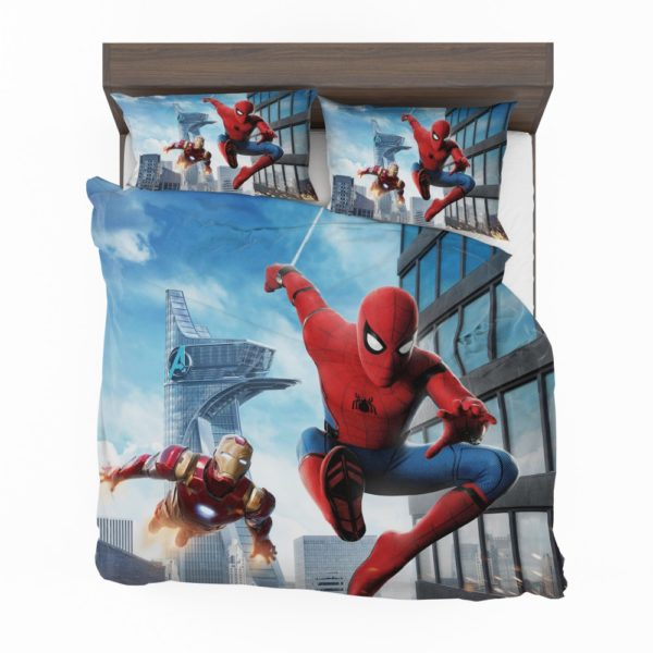 Spider-Man Homecoming Iron Man Bedding Set 2
