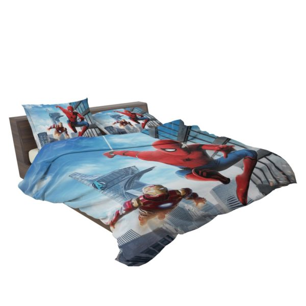 Spider-Man Homecoming Iron Man Bedding Set 3
