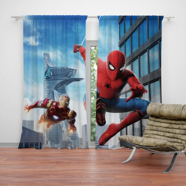 Spider-Man Homecoming Iron Man Curtain