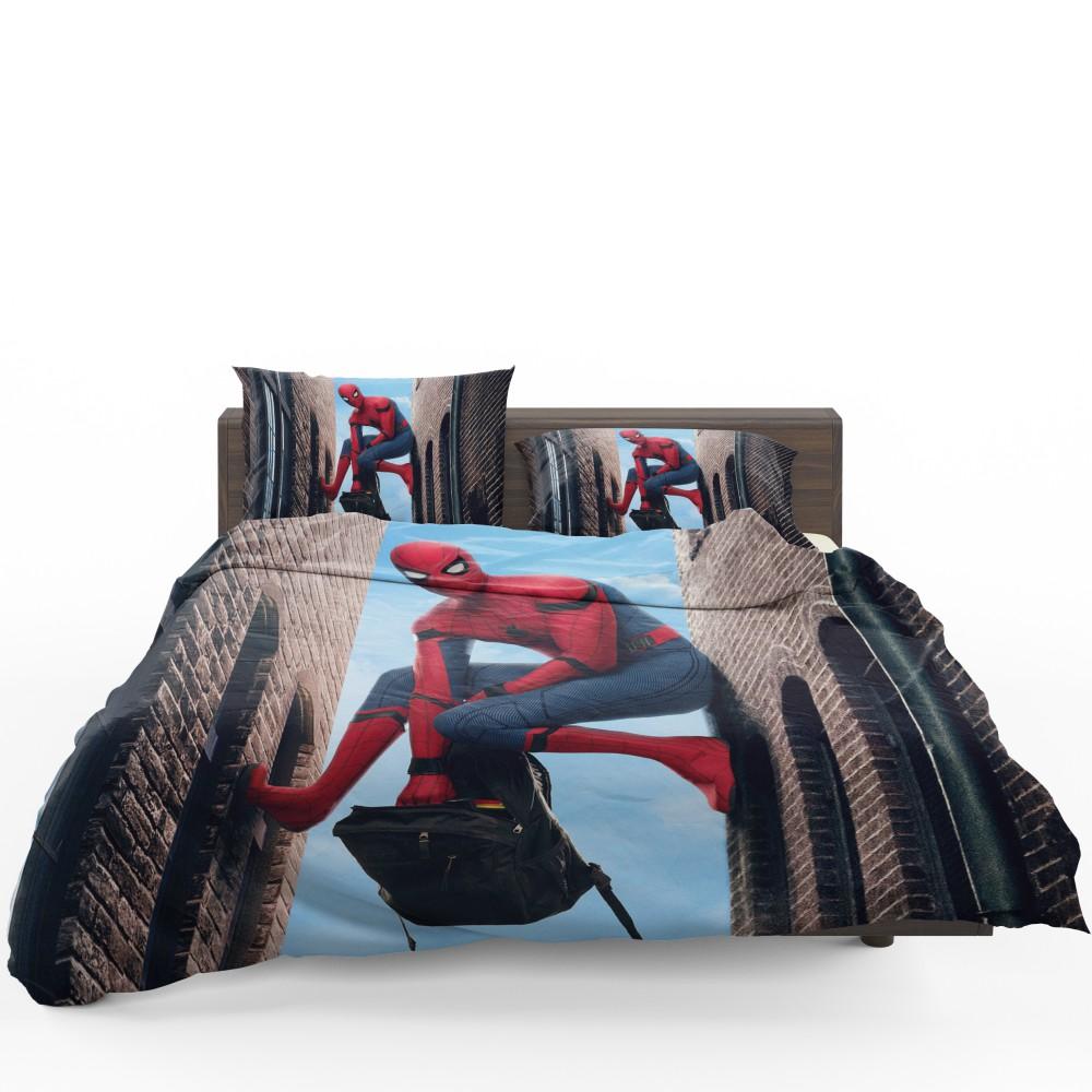 Spider Man Homecoming Marvel Movie Comforter Set Super