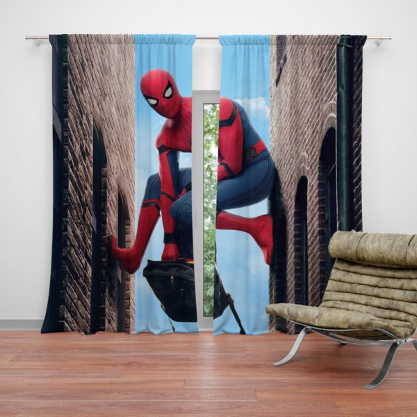 Spider-Man Homecoming Marvel Movie Curtain