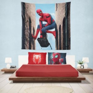 Spider-Man Homecoming Marvel Movie Hanging Wall Tapestry