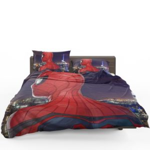 Spider-Man Homecoming Super Hero Marvel Comic Comforter Set 1