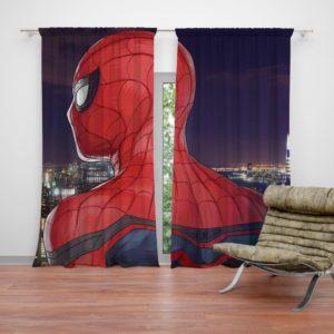 Spider-Man Homecoming Super Hero Marvel Comic Curtain