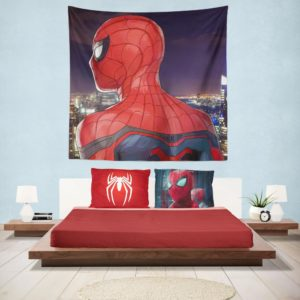 Spider-Man Homecoming Super Hero Marvel Comic Hanging Wall Tapestry