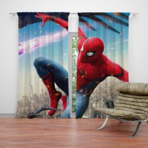 Spider-Man Homecoming Vulture Marvel Comics Curtain