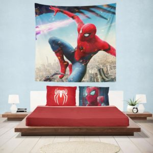 Spider-Man Homecoming Vulture Marvel Comics Hanging Wall Tapestry