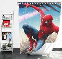 Spider-Man Homecoming Vulture Marvel Comics Shower Curtain