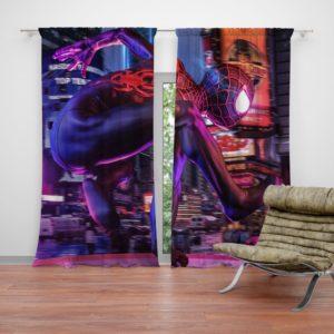 Spider-Man Into The Spider-Verse Curtain