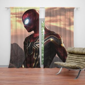 Spider-Man Iron Spider Marvel Avengers Infinity War Curtain
