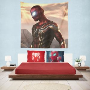 Spider-Man Iron Spider Marvel Avengers Infinity War Hanging Wall Tapestry