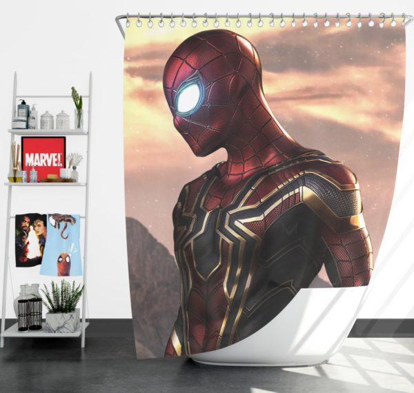 Spider-Man Iron Spider Marvel Avengers Infinity War Shower Curtain