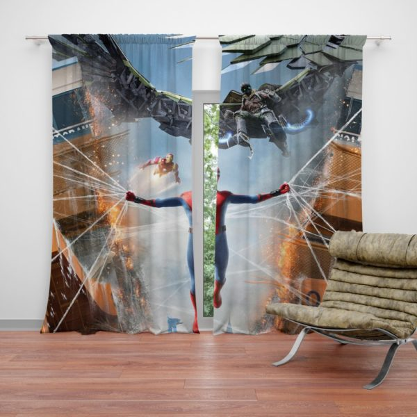 Spider-Man Jean Grey School for Higher Learning Curtain