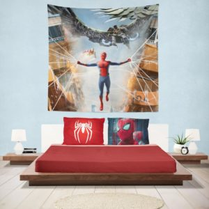 Spider-Man Jean Grey School for Higher Learning Hanging Wall Tapestry