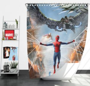 Spider-Man Jean Grey School for Higher Learning Shower Curtain