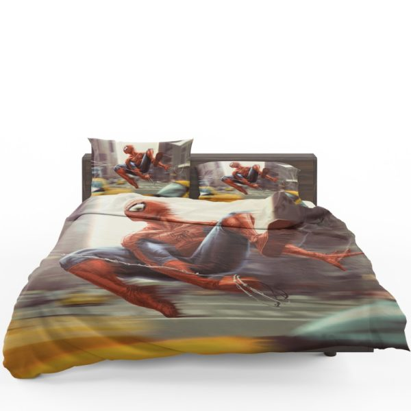 Spider-Man New York City New Avengers Bedding Set 1