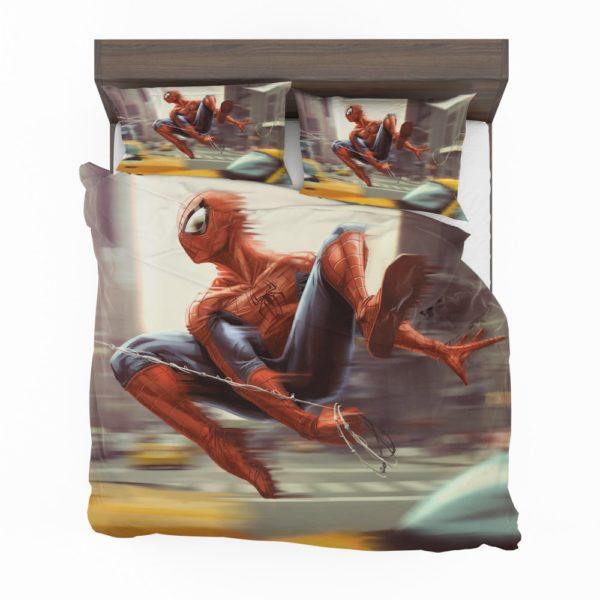 Spider-Man New York City New Avengers Bedding Set 2