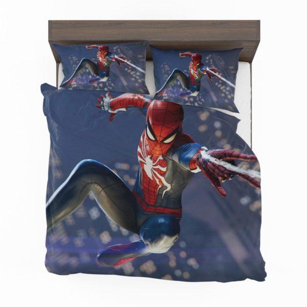 Spider Man PS4 Gameplay Bedding Set 2