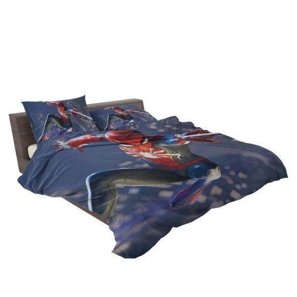 Spider Man PS4 Gameplay Bedding Set 3