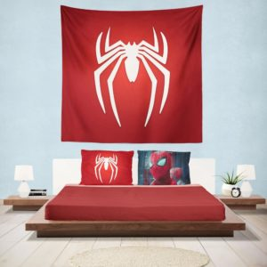 Spider-Man Parker Industries Marvel Comics Hanging Wall Tapestry