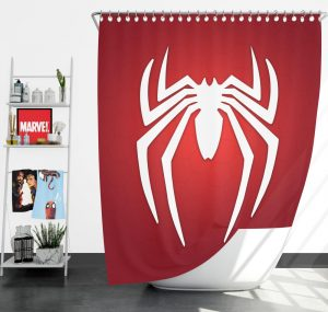 Spider-Man Parker Industries Marvel Comics Shower Curtain