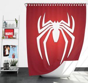 Spider-Man Parker Industries Marvel Comics Shower Curtain