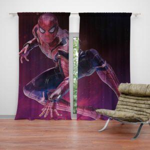 Spider-Man Peter Parker Avengers Infinity War Curtain