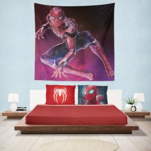 Spider-Man Peter Parker Avengers Infinity War Hanging Wall Tapestry