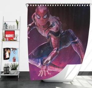 Spider-Man Peter Parker Avengers Infinity War Shower Curtain