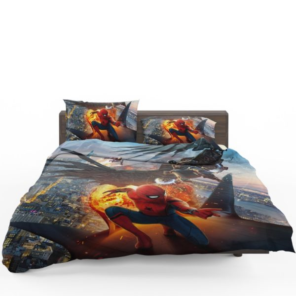 Spider-Man Vulture and Iron Man Comforter Set 1
