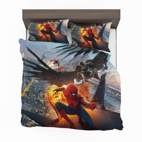 Spider-Man Vulture and Iron Man Comforter Set 2