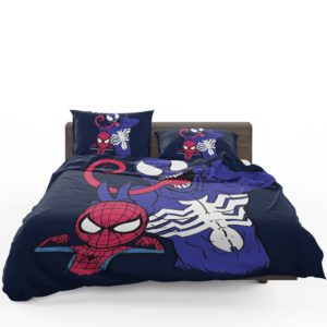 Spider-Man and Venom Artwork Print Comforter Set 1