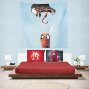 Spider-Man and Venom Marvel Hanging Wall Tapestry