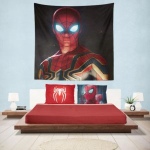 Spider-Man in Marvel Avengers Infinity War Movie Hanging Wall Tapestry