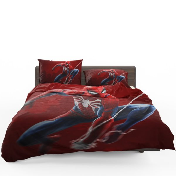 Spider-Man in Play Station 4 Video Game Bedding Set 1