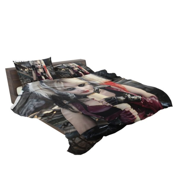 Suicide Squad Harley Quinn Cosplay Bedding Set 3