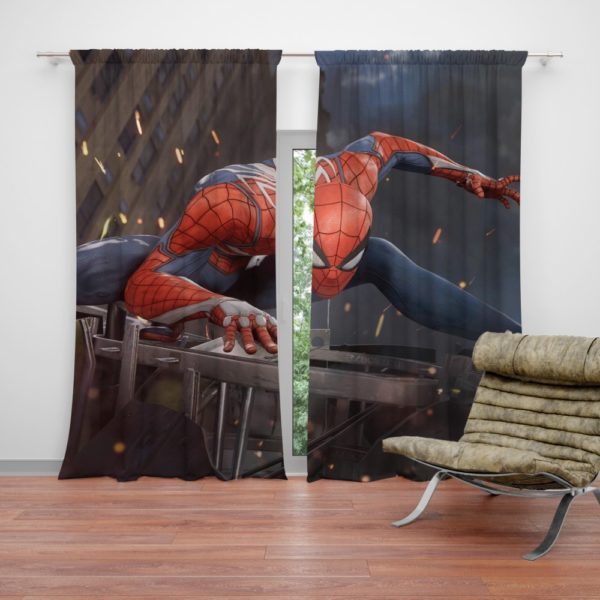 The Amazing Spider-Man 2 Movie Curtain
