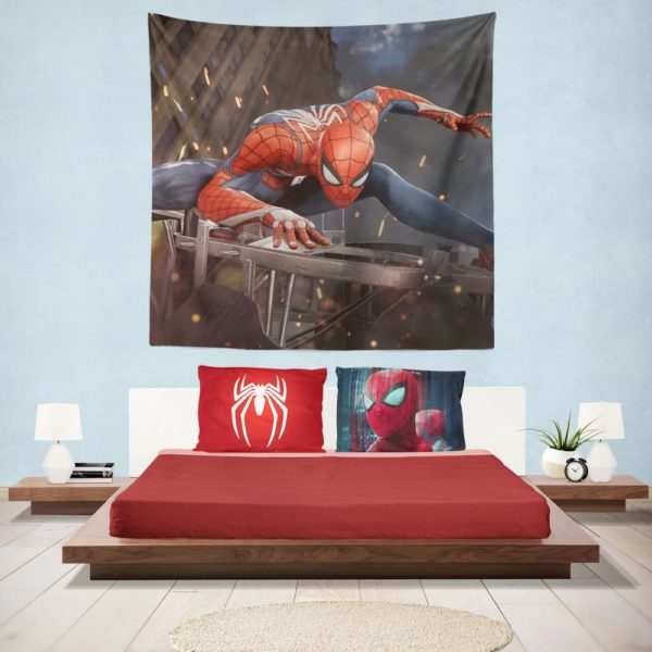 The Amazing Spider-Man 2 Movie Hanging Wall Tapestry
