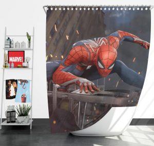 The Amazing Spider-Man 2 Movie Shower Curtain
