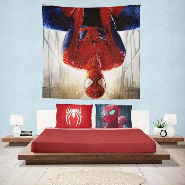 The Amazing Spider-Man Peter Parker Hanging Wall Tapestry