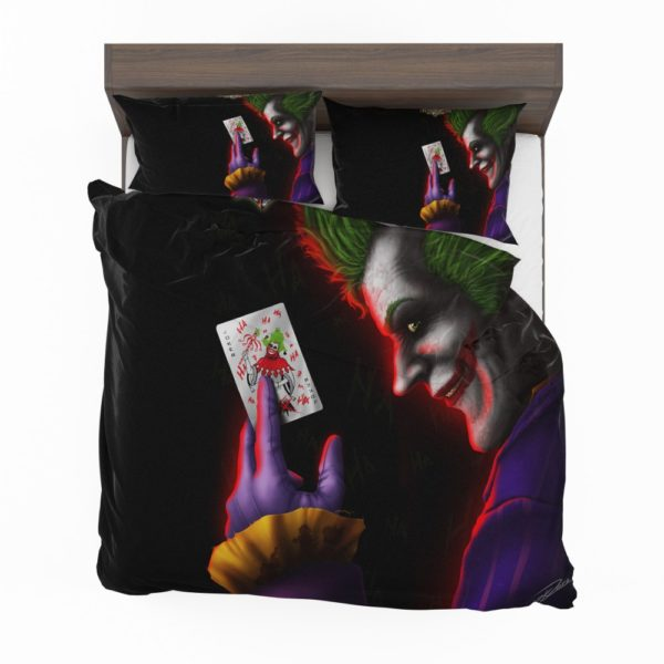 The Joker A Visual History of the Clown Prince of Crime Bedding Set 2